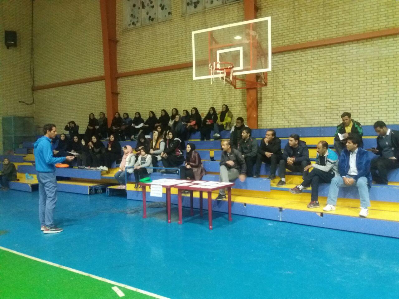 برگزاری جشنواره آموزش و مسابقه در رشته های دارت و فریزبی