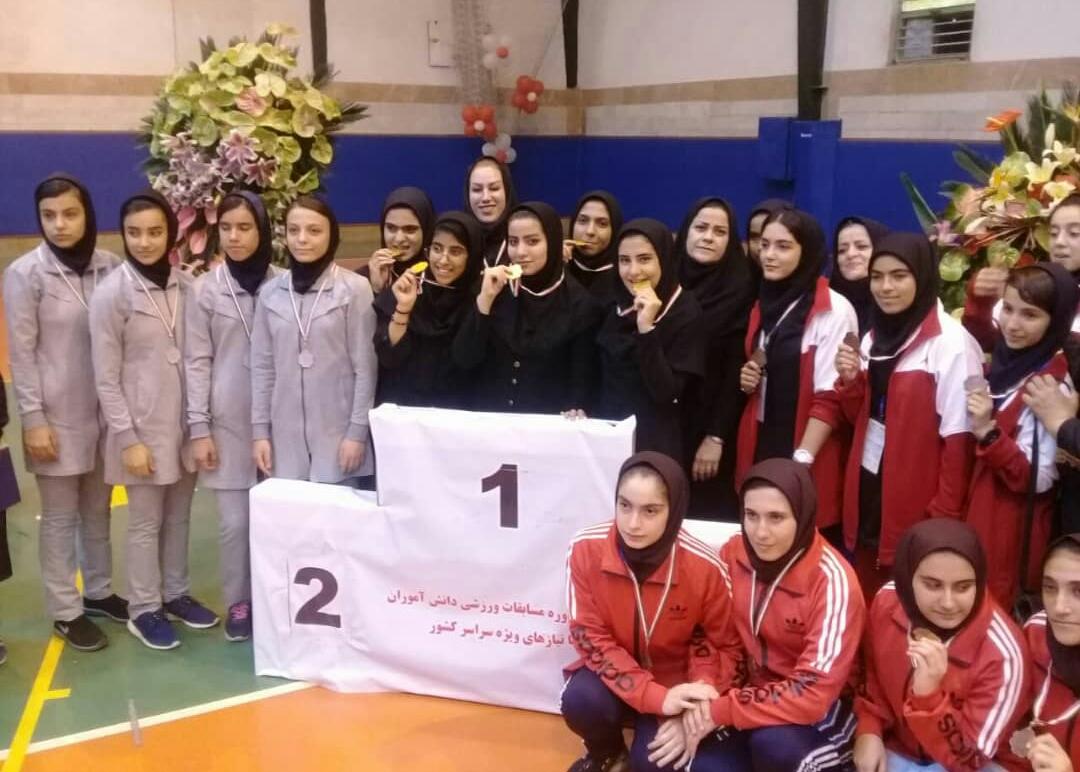 افتخار آفرینی دانش آموزان مدارس استثنایی در مسابقات ورزشی سال تحصیلی ۹۹-۹۸