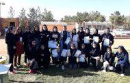 برگزاری مسابقات دو و میدانی متوسطه اول دختران مدارس نجف آباد سال تحصیلی ۹۹-۹۸